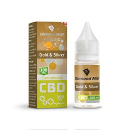 Gold-and-Silver-eliquid-diamondmist-CBD-100