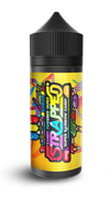 Strapped sour rainbow candy 100ml
