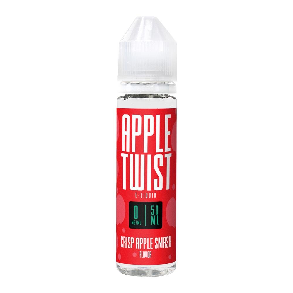Apple Twist - Crisp Apple Smash 0MG 50ML - Vape Distribution