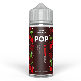 Pop Cherry Cola 100ml Square
