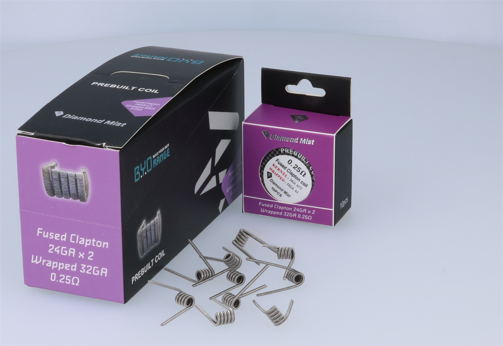 Diamond Mist Advanced Pre Build Coils Vape Distribution