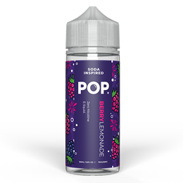 Pop Berry Lemonade 100ml Square