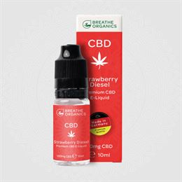 Premium CBD E-Liquid Strawberry Diesel