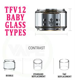 TFV12 Baby BUBBLE Replacment Glass