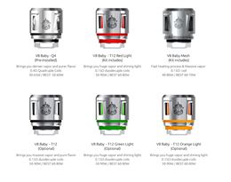 TFV12 Baby Coil Chart