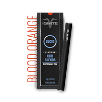 ignite cbd pen blood orange