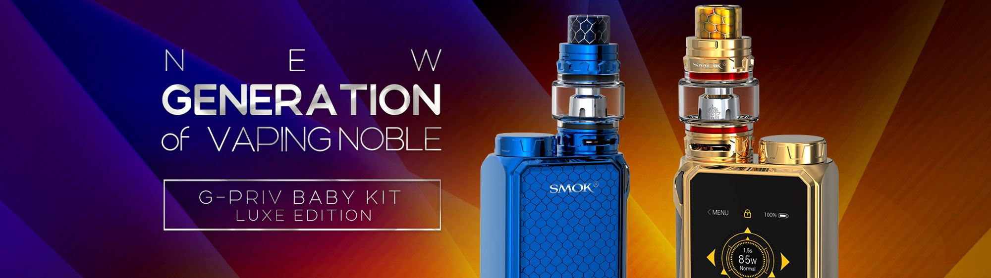 SMOK G-PRIV BABY LUXE EDITION BANNER