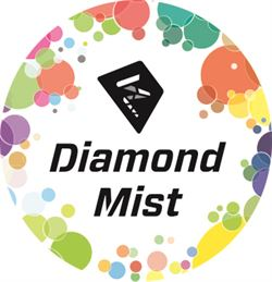 Diamond mist Stickers